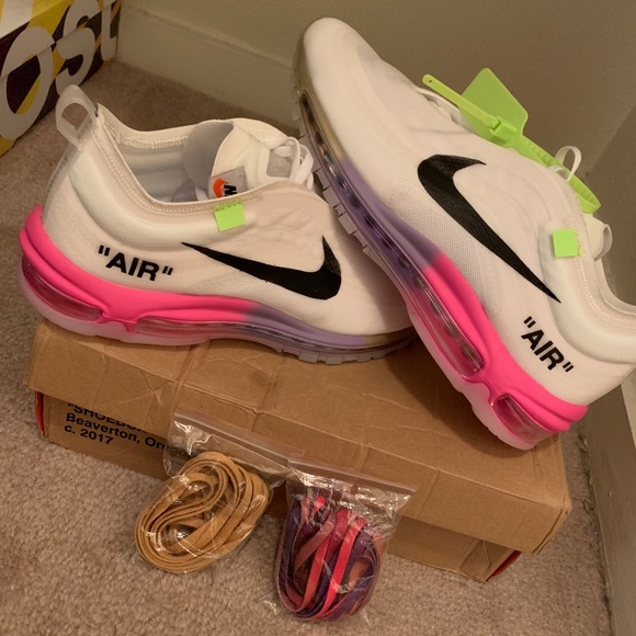 9ac5235a29 Off-White Shoes | Nike Air Max 97 Off White Serena Williams Queen ...